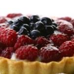 Fresh fruitcake with blueberry berry — Stock Photo #4197459