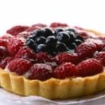 Fresh fruitcake with blueberry berry — Stock Photo #4197463
