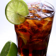 A fresh ice tea with ice — Stock Photo #4197514