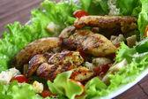 Cezar salad — Stock Photo