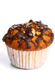Cupcake with grated chocolate — Stock Photo