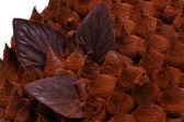 Grated chocolate — Stock Photo