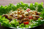 Cezar salad — Stock Photo