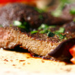 Fresh and very tasty steak — Stock Photo