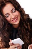 Vacker ung och attraktiv kvinna — Stockfoto
