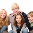 Group of beautiful teens — Stock Photo #5018945