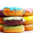 Royalty-Free Stock Photo: Colorful and tasty donuts