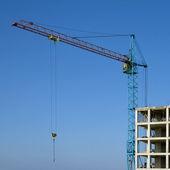 Construction crane — Fotografia Stock