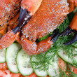 Two stone crabs on a plate - Stock Photo