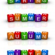 Four Seasons — Stock Photo #4556130