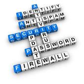 Segurança informática — Foto Stock