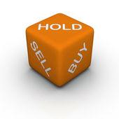 Kupię, sprzedam, przytrzymaj — Zdjęcie stockowe