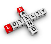 Brand and loyalty — Stock Photo