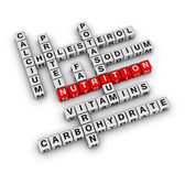 Nutrition Ingredient — Stock Photo