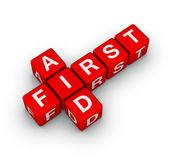 Eerste hulp — Stockfoto