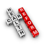 реформа здравоохранения — Стоковое фото