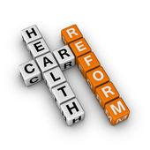 Reforma da saúde — Foto Stock