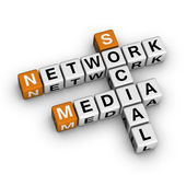 Social Media Network — Stock Photo