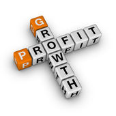 Growth and profit — Stock Photo