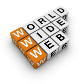 Word wide web — Stock Photo