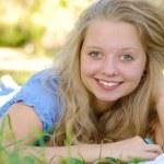 Beautiful student — Stock Photo #3966682