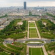 Stock Photo: View at Champ de Mars, Paris
