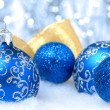 Christmas tree decorations — Stock Photo