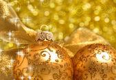 Christmas decorations background — Stock Photo