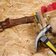 Royalty-Free Stock Photo: Carpenter tool-belt
