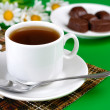 Foto Stock: Hot drink