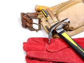 Cinturón de herramientas de carpintero — Foto de Stock