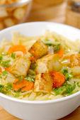 Zuppa di spaghetti — Foto Stock