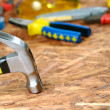 Carpenter tools — Stock Photo #5208618