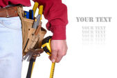 Carpenter tools — Foto Stock
