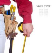 Herramientas de carpintero — Foto de Stock