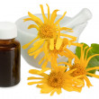 Tincture of arnica — Stock Photo