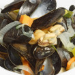 Royalty-Free Stock Photo: Cooked mussels