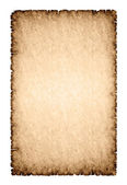Rough parchment paper background — Stock Photo