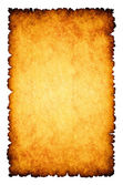 Rough burnt parchment paper background — Stock Photo