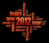 Concept of 2012 year theme — Stock Photo