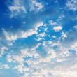 Background of blue sky — Foto Stock