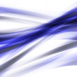 Illustration of dark blue abstract lines and curves — Stock Photo