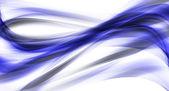 Ilustrace tmavě modré abstraktní čar a křivek — Stock fotografie