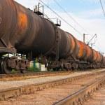 Big cargo transportation — Stock Photo