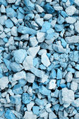 Background of blue-colored stones — Stock Photo