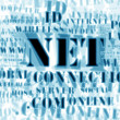 Concept of net and web – word cloud — Stock Photo #4925987