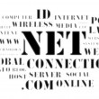 Stock Photo: Concept of net and web – word cloud