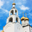Orthodox church's cupola — Stock Photo