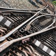 Stock Photo: Railroad junction