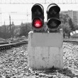 Royalty-Free Stock Photo: Red light